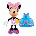Фигурки за игра Мини Маус с бутикови рокли от серията Bowtique, Minnie Mouse Princess Fisher Price, V4137
