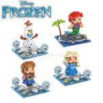 Конструктор мини Замръзналото кралство Олаф, Micro block Olaf Frozen