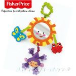 Fisher Price Играчка за количка ОГЛЕДАЛО, Rainforest Take-Along Musical Mirror, N2542