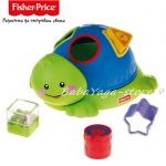 Fisher Price Friendly Firsts Turtle Shape Sorter, N1072
