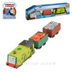 Fisher Price Влакчето СКРУФ, Thomas & Friends Motorized SCRUFF Engine от серията TrackMaster, CFF93