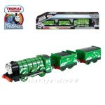 Fisher Price Влакчето Летящия ХОЛАНДЕЦ, Thomas & Friends Motorized Flying SCOTSMAN Engine от серията TrackMaster, DFM88