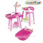 Ecoiffier Бебешки център за кукли, Baby nursery set, 2878