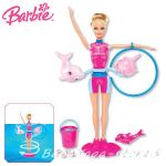 Barbie Doll Dolfin trainer Splash & Spin, X8380