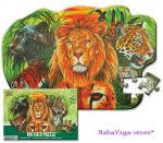 Wild Republic Big Cat 50pc Floor Puzzle, 64573