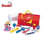 Simba Детски докторски комплект, аксесоари и чанта, 12 части, 105541297
