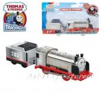 Fisher Price Влакче МЕРЛИН, Thomas & Friends Motorized MERLIN Engine от серията TrackMaster, FJK58