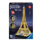 Ravensburger 3D Puzzle Eiffel Tower, Night Edition, 12579