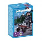 Playmobil Robber Knight with Cannon, 4872