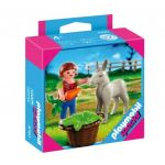 Playmobil Special: Child with Donkey Foal, 4740