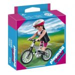 Playmobil Special: Фигурки Колоездач Woman With Mountain bike, 4743
