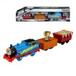 Fisher Price Влакчето ТОМАС, Thomas & Friends Motorized Trophy Thomas от серията TrackMaster, DFM86