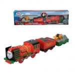 Fisher Price Влакче ЙОНГ БАО, Thomas & Friends Motorized Yong Bao Rescue от серията TrackMaster, FJK57
