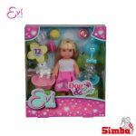 КУКЛА Evi Love с куче и коте, Evi Love Doll Dog & Cat, Simba Toys 105733044