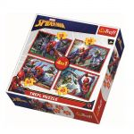 Trefl Пъзел Спайдърмен 4в1 (207ч.), Spiderman Trefl puzzle, 34293