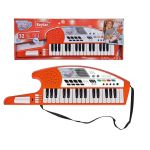 Детска КИТАРА с клавиши, Keytar Keyboard Simba My musical World, 106834252