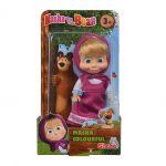 Simba - Маша и мечока Мини кукла МАША (12см) asst, 109301678