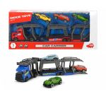 Dickie Toys Car Carrier Auto Transporter with 3 Vehicles, 203745008