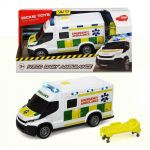 Dickie Iveco Dayly Ambulance, musical toy, 203713012038