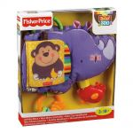 Fisher Price Мека КНИЖКА Носорог, Baby Luv U Zoo Activity Rhino, T9238