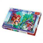 TREFL ПЪЗЕЛ за деца (100ч.) Малката русалка, Disney The little Mermaid Puzzle, 16250