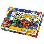 TREFL ПЪЗЕЛ за деца (100ч.) Блейз състезание, Disney Blaze Puzzle, 16301