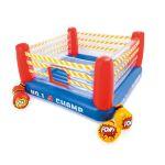 Детски надуваем батут Боксов ринг, Intex Jump-O-Lene, с 2 чифта надуваеми ръкавици, Jump-O-Lene BoxING Ring BounceR