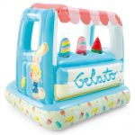 Intex Ice Cream Stand Inflatable Playhouse and Pool, 48672NP