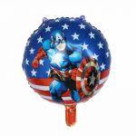 Balloon Birthday Party Oval: Captain America, 45 cm.