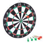 Детска игра Дартс (40см.) и 6 бр. стели, Darts with 6 arrows