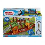 Fisher Price Игрален комплект Подвижен мост Thomas & Friends Walking Bridge от серията TrackMaster, GHK84