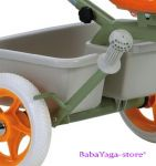 Tricycle ITALTRIKE Transporter Passenger, green - 1040