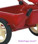 Tricycle ITALTRIKE Transporter Passenger, red - 1040