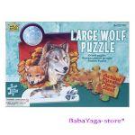 Wild Republic Wolf 50pc Floor Puzzle, 81608