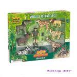 Комплект фигурки за игра ECO-EXPEDITION - животните в АФРИКА на Wild Republic