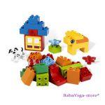 LEGO Конструктор DUPLO ЗЕЛЕНА кофа с тухлички Duplo Brick Box - 5416