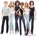 Barbie КУКЛА Basics T7746