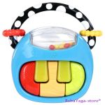 Bright Starts Start Your Senses Play A Tune Piano Toy 9014