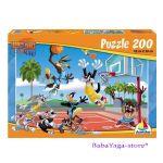ПЪЗЕЛ Looney Tunes Хайде да играем БАСКЕТБОЛ (200ч.) - П608