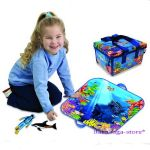 Neat-Oh ZipBin Aquarium Mini Playset with 2 fishes, 1196XS