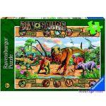 Ravensburger ПЪЗЕЛ за деца Динозаври, Dinosaurs (100ч.), 10609
