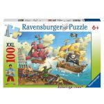 Ravensburger ПЪЗЕЛ за деца Пиратски кораб (100ч.), 106660