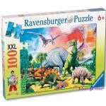 Ravensburger ПЪЗЕЛ за деца ДИНОЗАВРИ, Dinosaurs (100ч.), 109579
