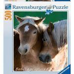 Ravensburger ПЪЗЕЛ за деца (500ч.) Портрет на коне - 142095