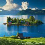 Ravensburger ПЪЗЕЛ за деца (1500ч.) Остров в Норвегия - 162574
