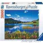 Ravensburger ПЪЗЕЛ за деца (3000ч.) Планински пейзаж - 170388