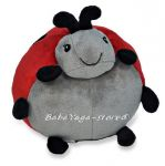 17351 Декоративна Възглавница КАЛИНКА Ladybug Pouf от CLOUD_B