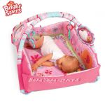 Bright Starts Activity gym 5 in 1 BABY'S BONUS delux PLAYPLACE Pretty in Pink, 9010