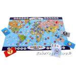 Play Land Образователна игра за деца - Пътешествие по света - A-720
