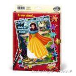 Shipper КАРТИНА за рисуване комплект с бои и четка СНЕЖАНКА - 9150624
